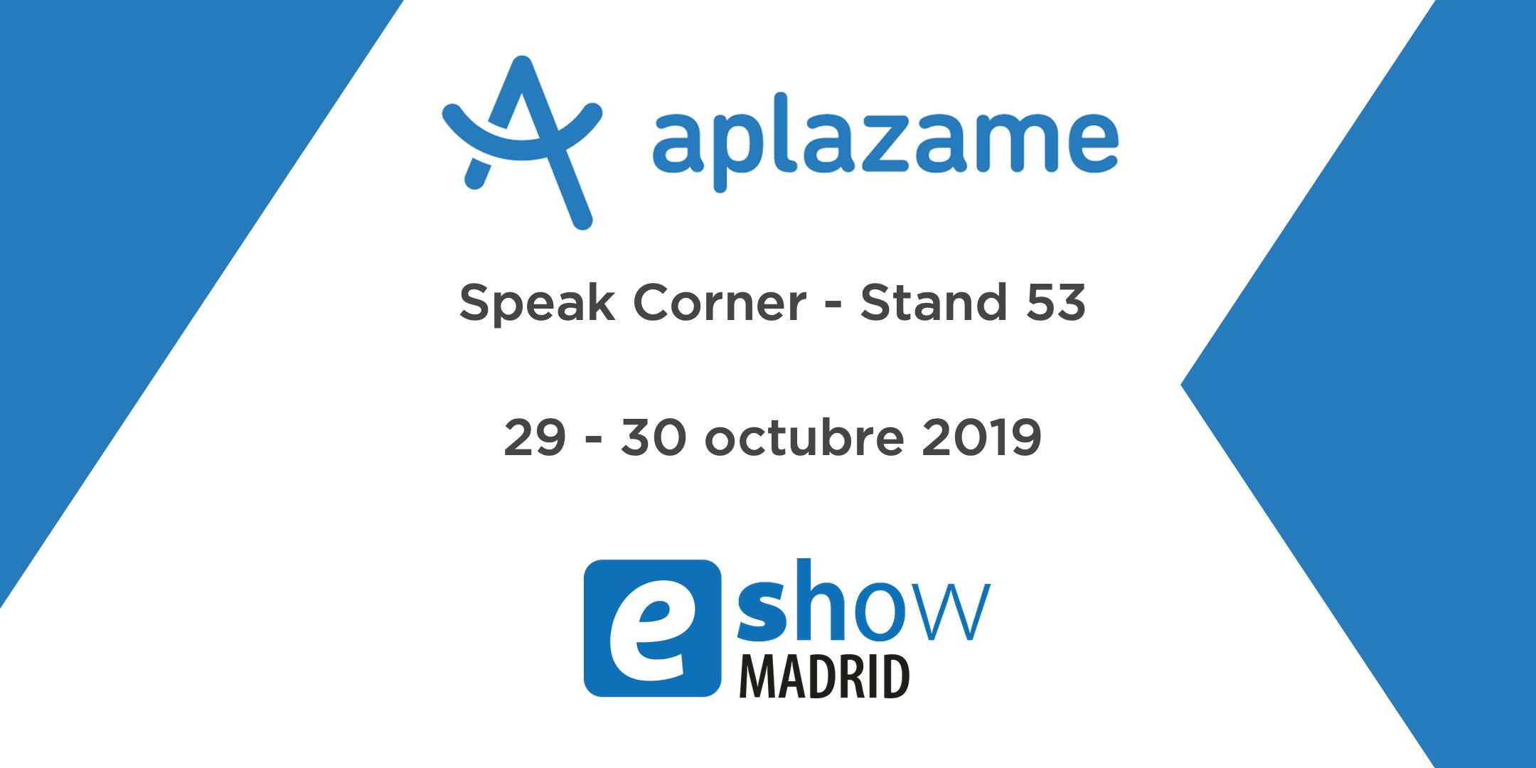 ¡Te esperamos en nuestro stand de eShow Madrid!